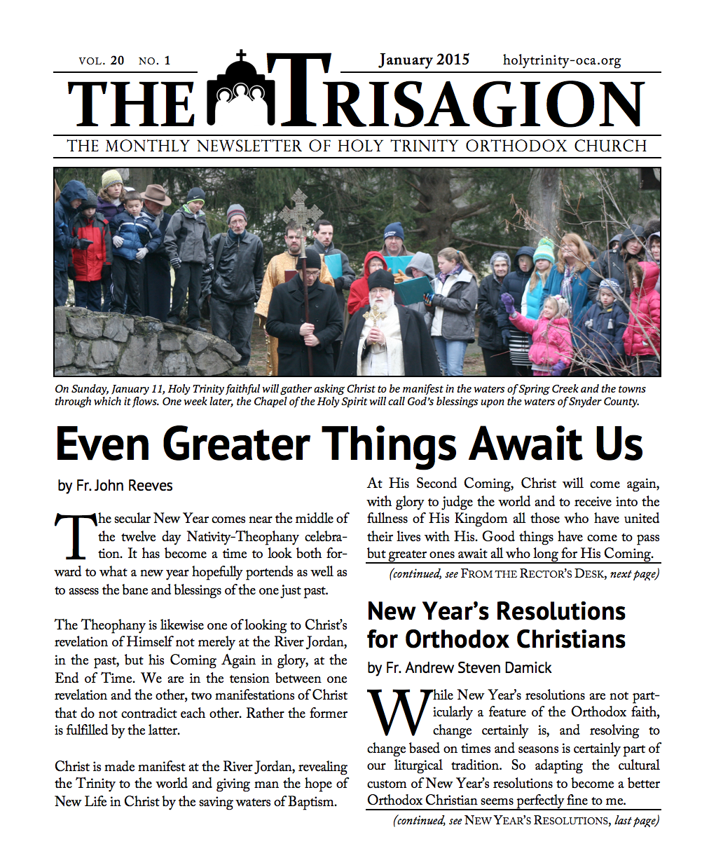 Click here to download the January 2015 issue.