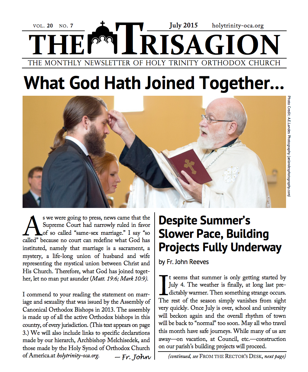 Click here to download the July 2015 issue.