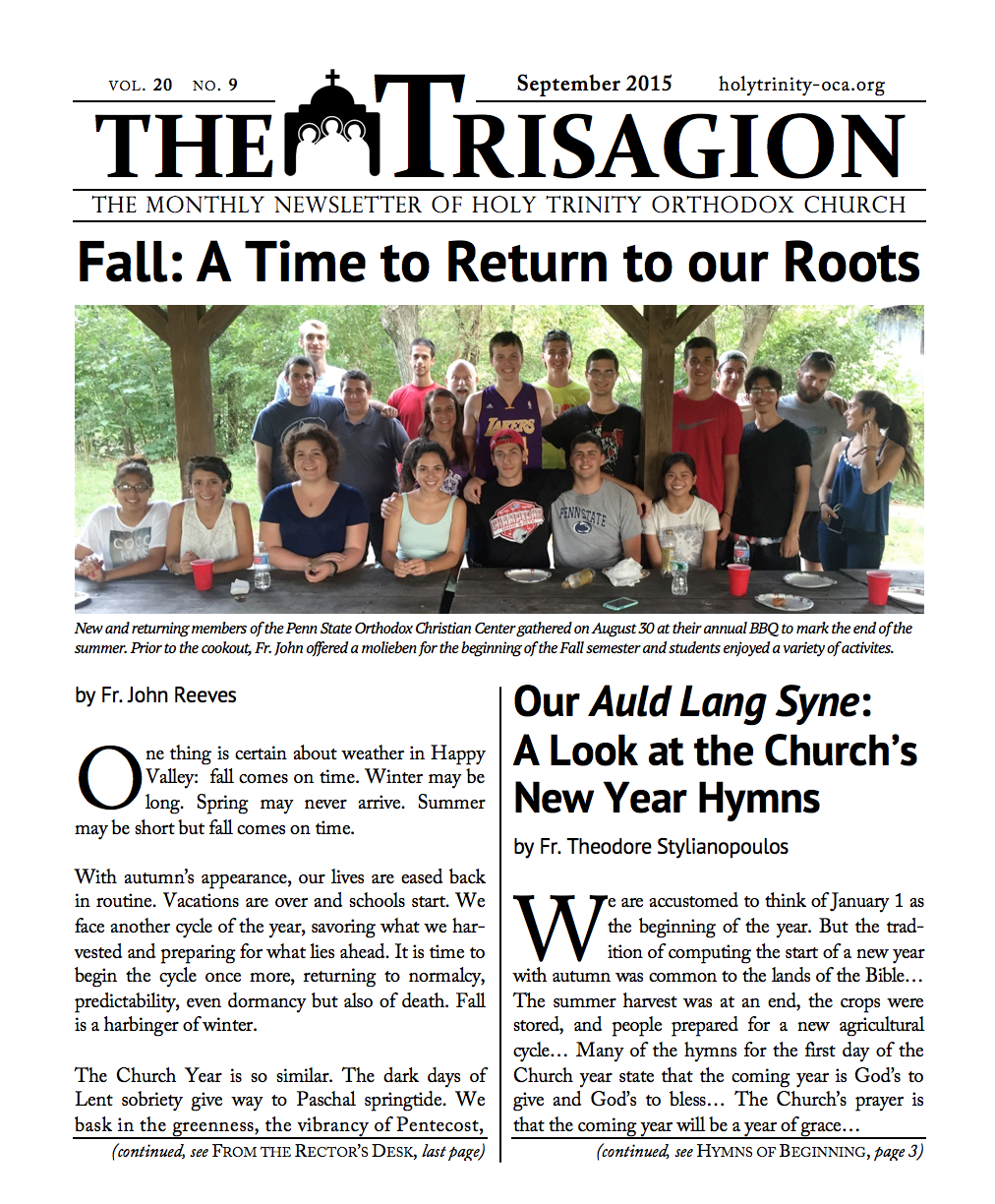 Click here to download the September 2015 issue.