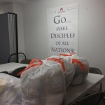 Emergency Kits for Sandy Victims.