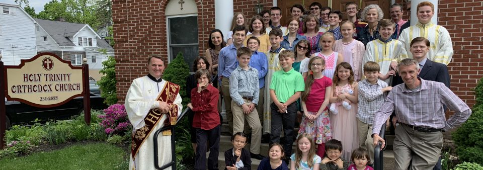 Sunday School 2018-19 Class Photo