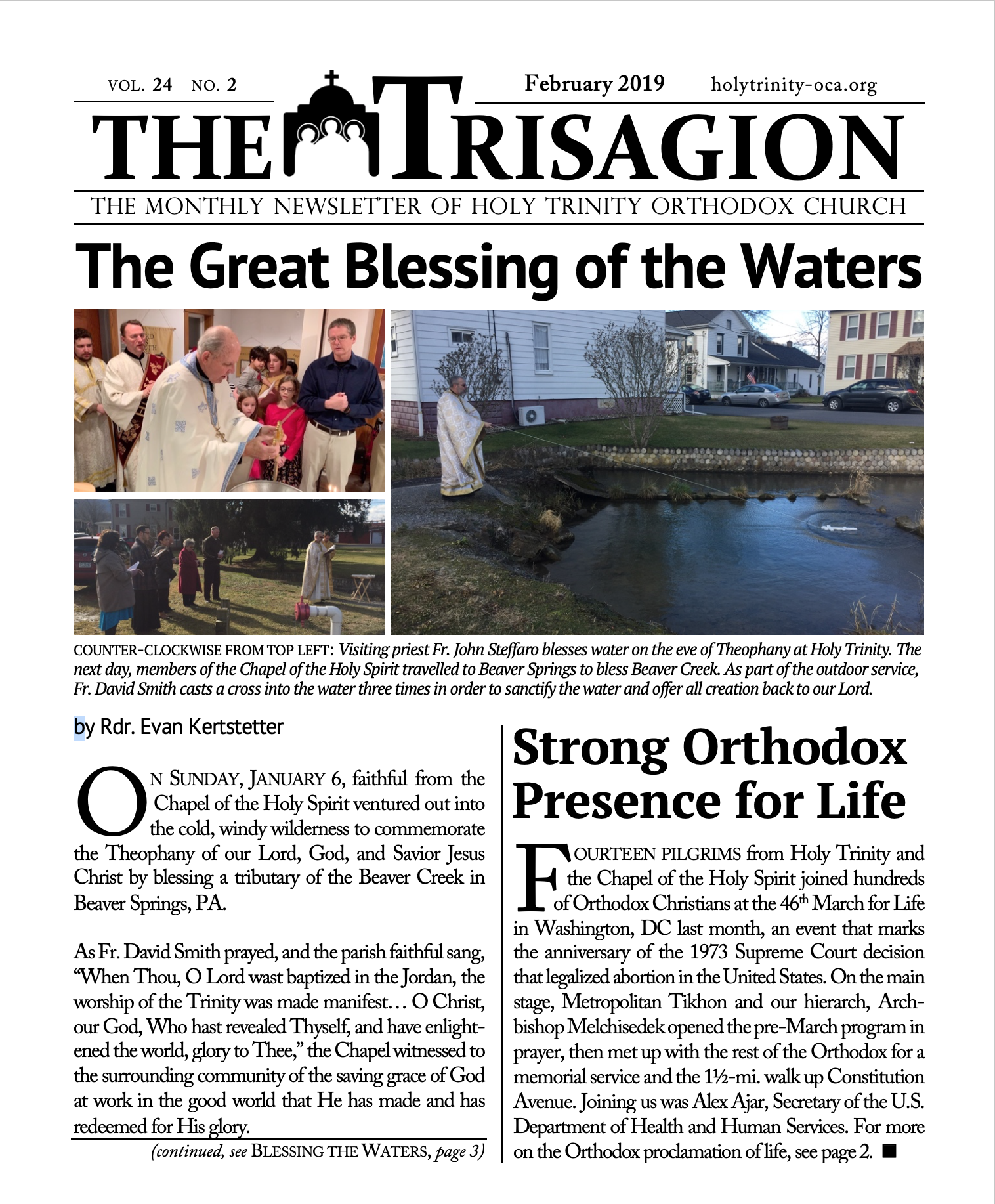 Click here to download the February 2019 issue.