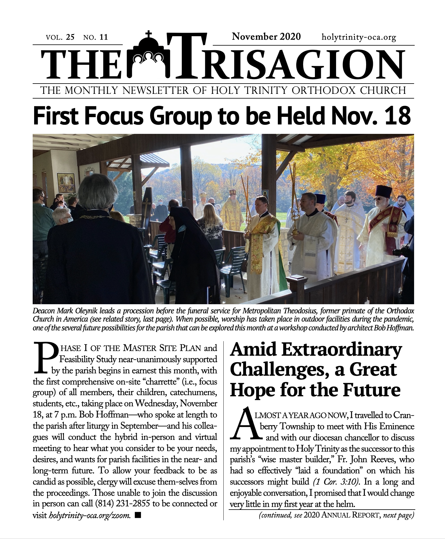 Click here to download the November 2020 issue.