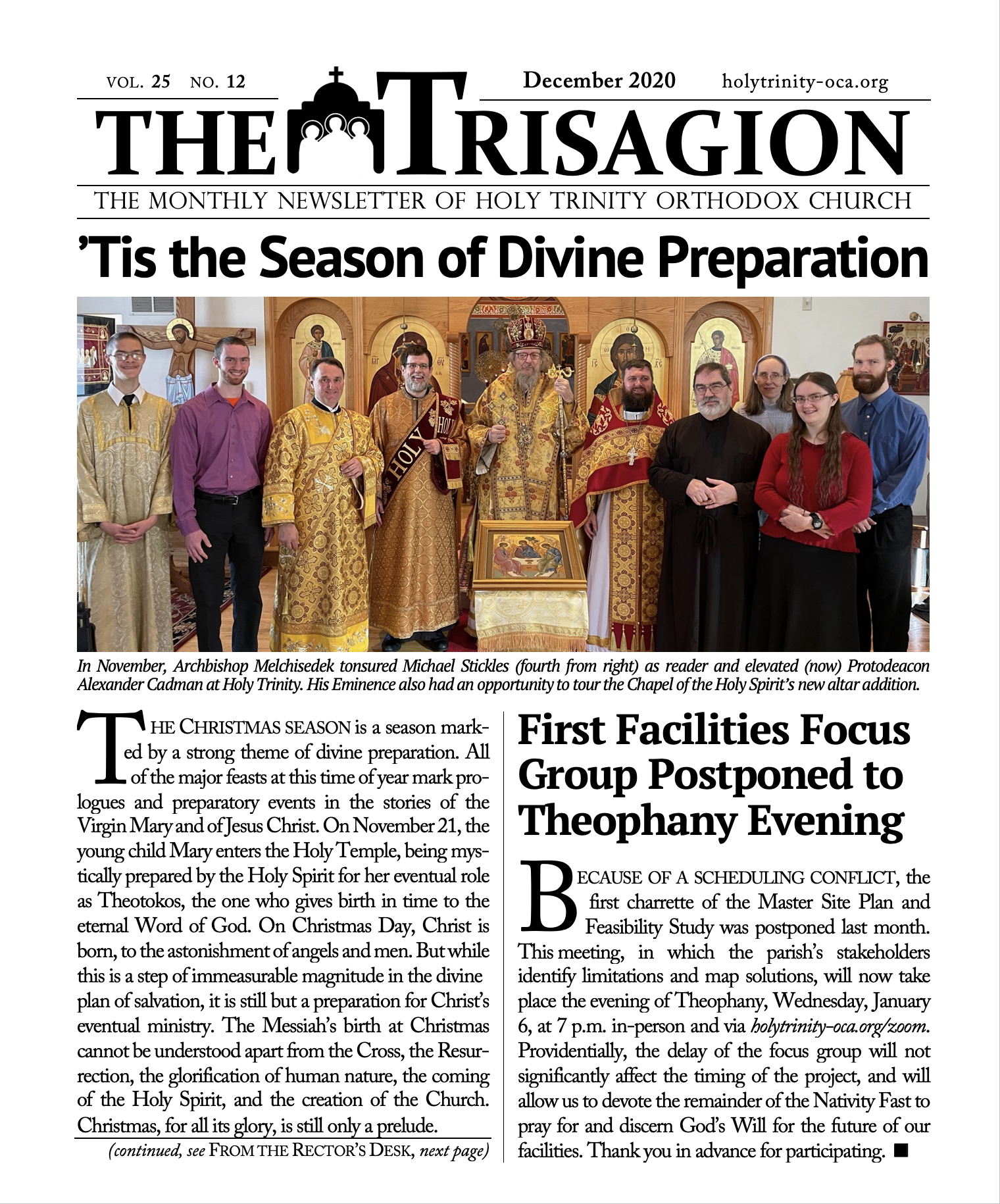 Click here to download the December 2020 issue.